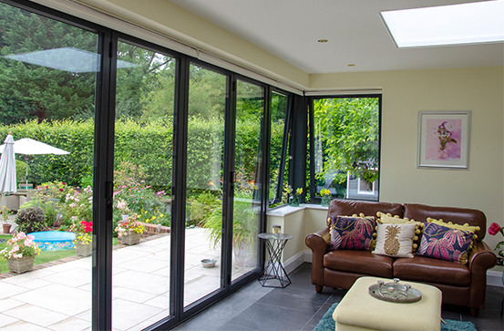 Aliuminum Sliding Folding Doors