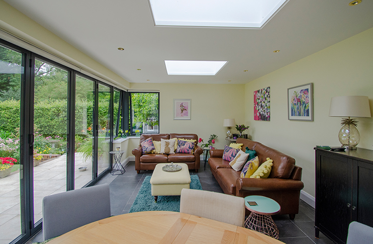 Decorated Home Extension