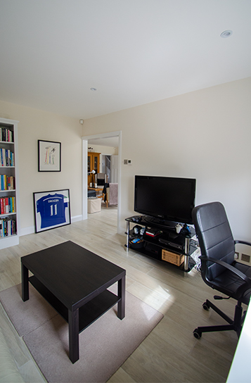 Home study and games room