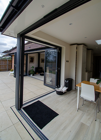 Sliding Folding Doors Ashtead Extension