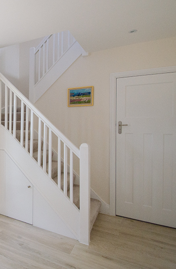 Staircase carpentry and decoration